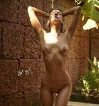 Hegre Art Melena Maria nude and wet