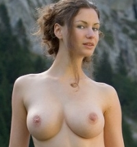 FEMJOY Susann nude in nature