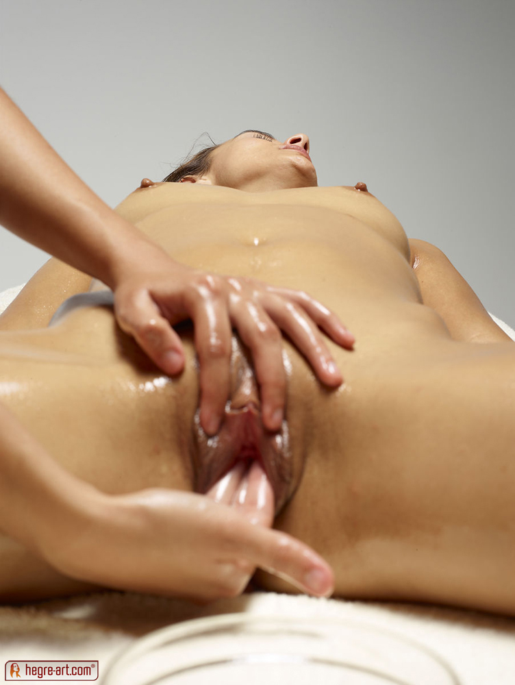 Vulva massage video