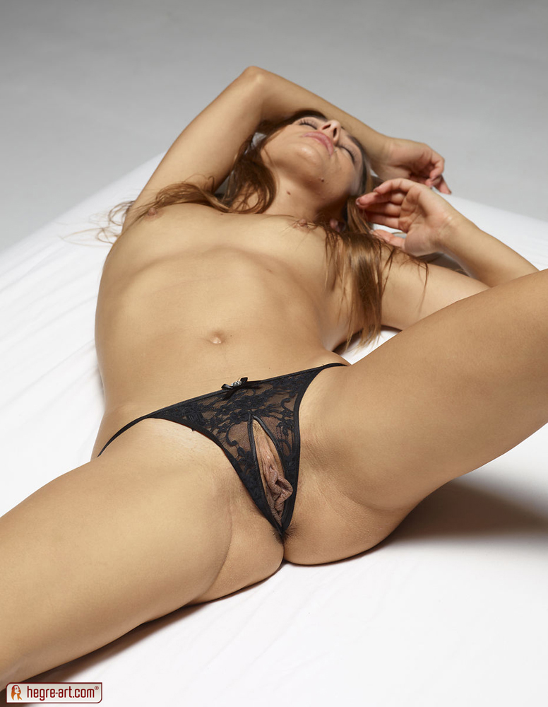 crotchless thong nude sexy women