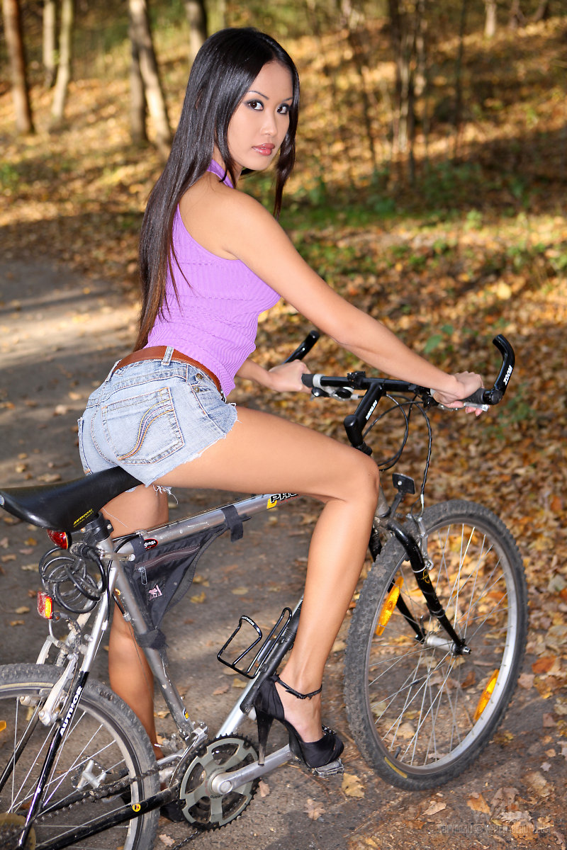 Asian bicycle sex