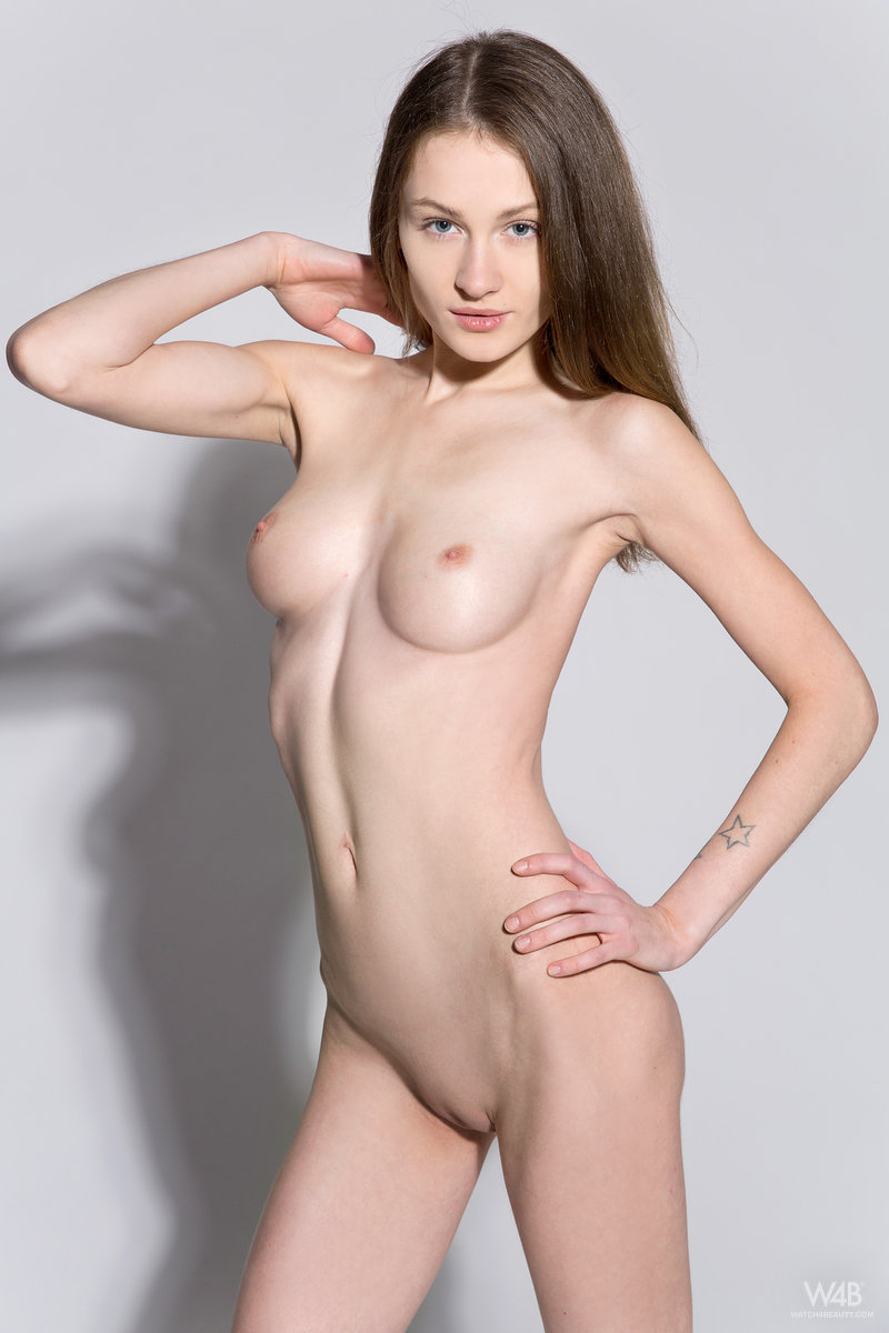 Model casting nude